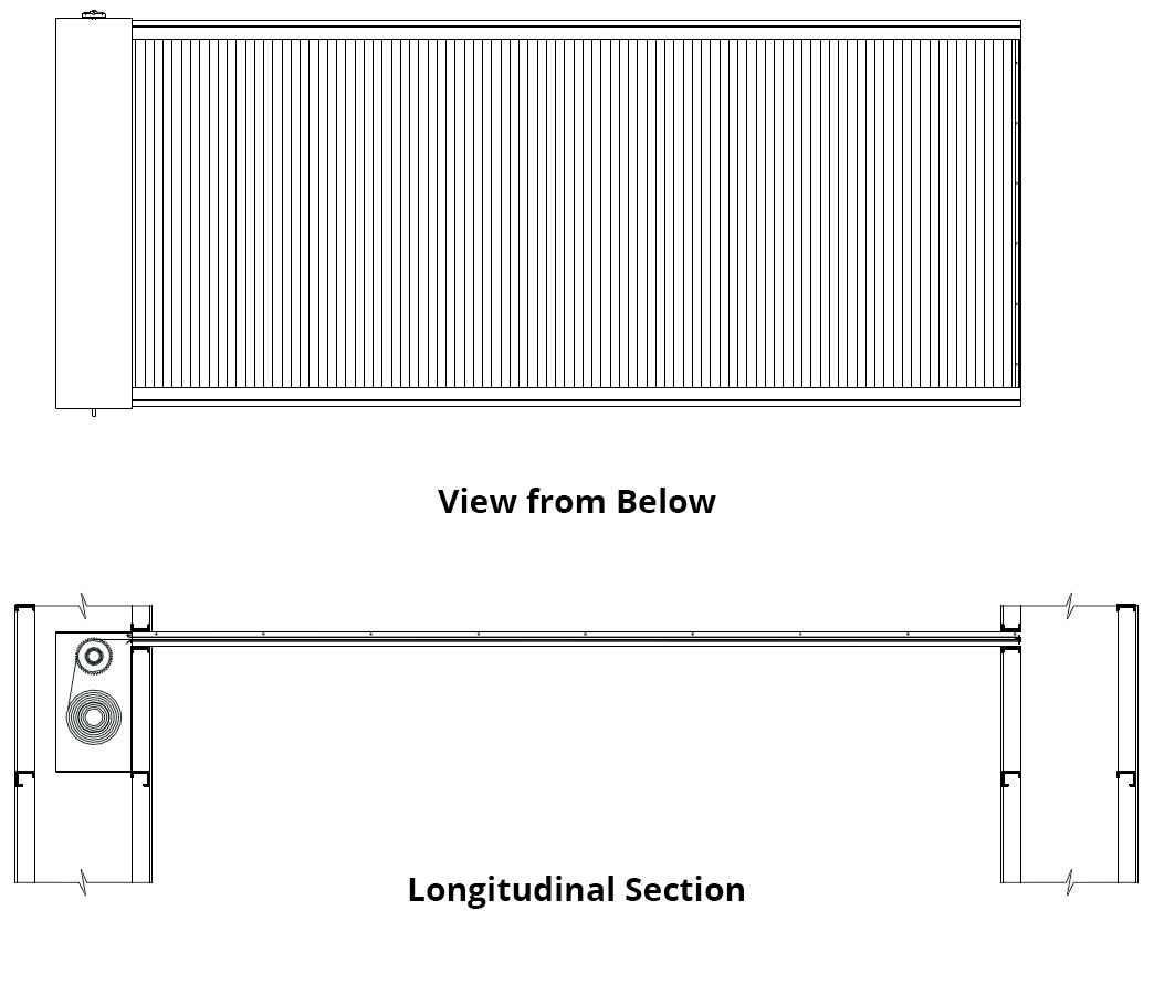 CGHCD Horizontal Coiling Door