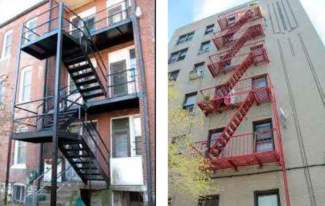 CITY GATES FIRE ESCAPE MAINTENANCE