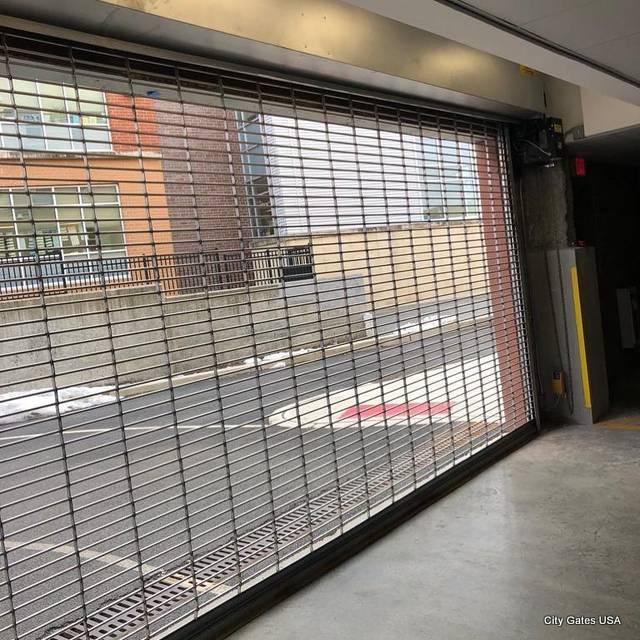 City Screen Perforated Door City Gates Usa
