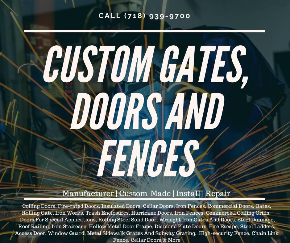 Custom Gates, Doors and Fences